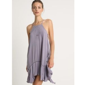 Free People ~ Heat Wave Embroidered Tunic Dress